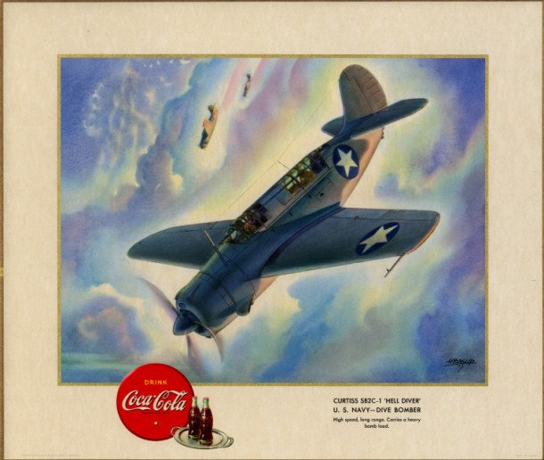 """Curtiss 5B2C-1 """"Hell Diver"""" U.S. Navy - dive bomber 1943"""