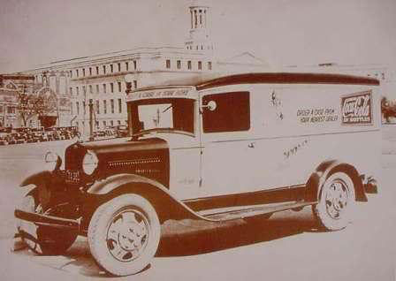 Coca Cola Delivery Truck Colorado 1932