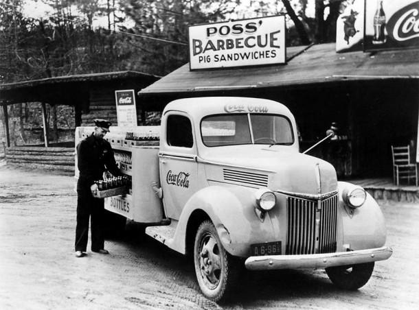 Coca-Cola Delivery Truck, 1940's
