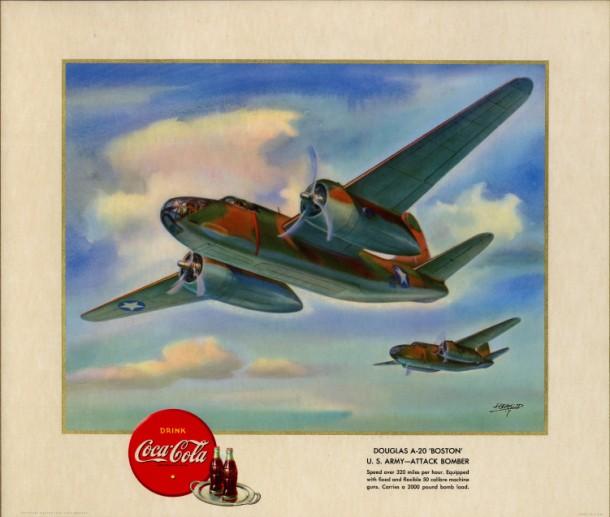 """Douglas A-20 """"Boston"""" U.S. Army - attack bomber 1943"""