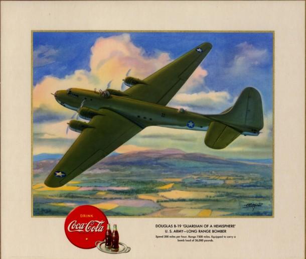 "Douglas B-19 ""Guardian of a Hemisphere"" U.S. Army - Long Range Bomber"
