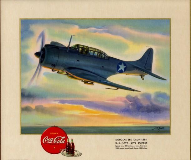 "Douglas SBD ""Dauntless"" U.S. Navy - dive bomber 1943"