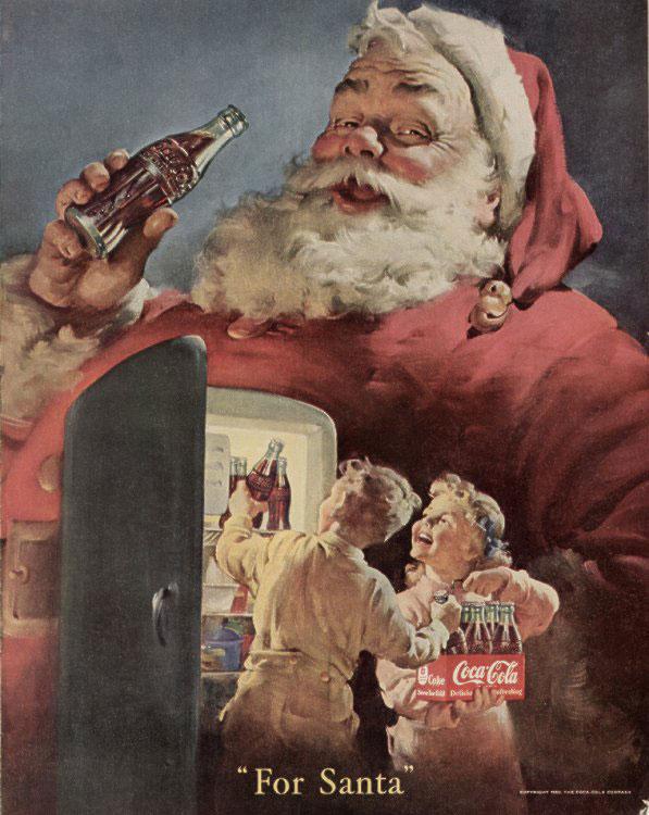 Coca-Cola: for Santa 1950