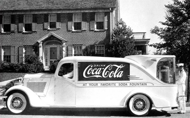 Coca-Cola Fountain Car, 1930's