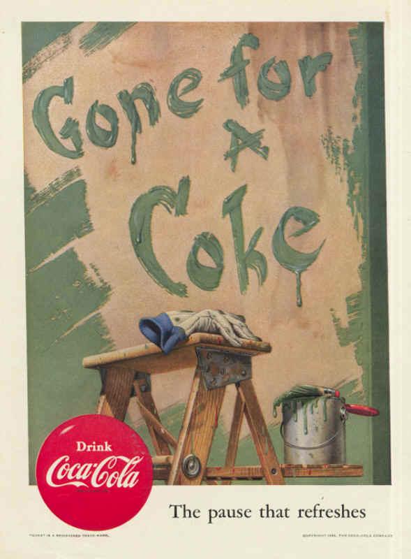 Gone for a Coke 1952
