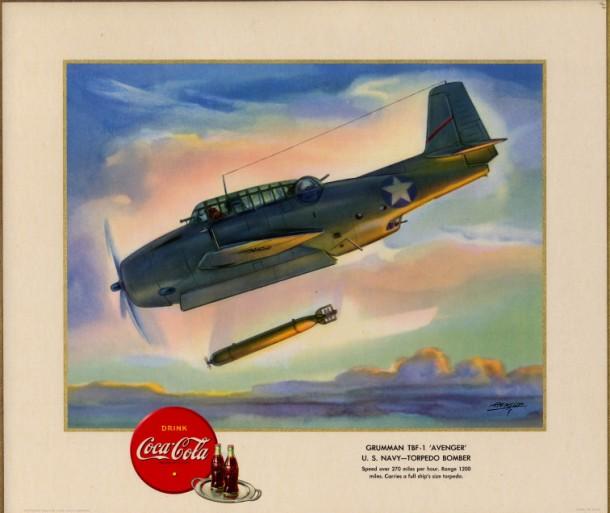 "Grumman TBF-1 ""Avenger"" U.S. Navy - torpedo bomber 1943"