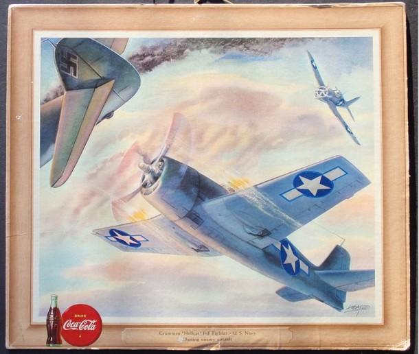"""Grumman """"Hellcat"""" F6F Fighter - U.S. Navy 1943"""