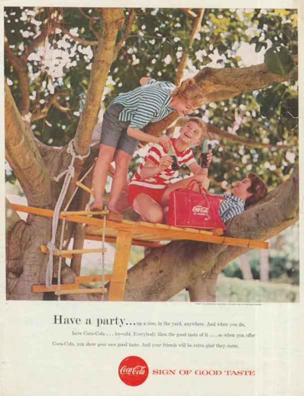 Coca-Cola have a party... 1957