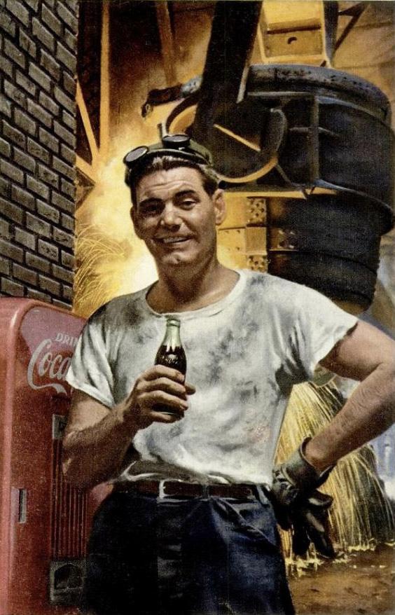 Coca-Cola heavy industry 1953