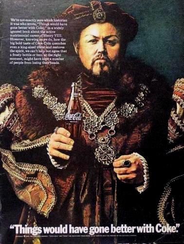 Coca-Cola Henry VIII