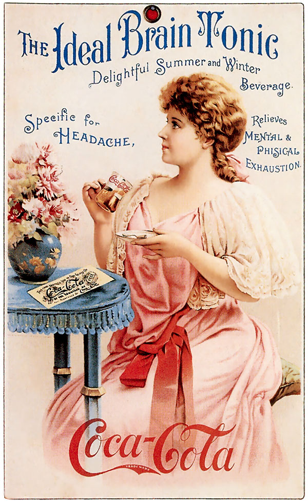 The ideal brain tonic (with Hilda Clark) 1890s