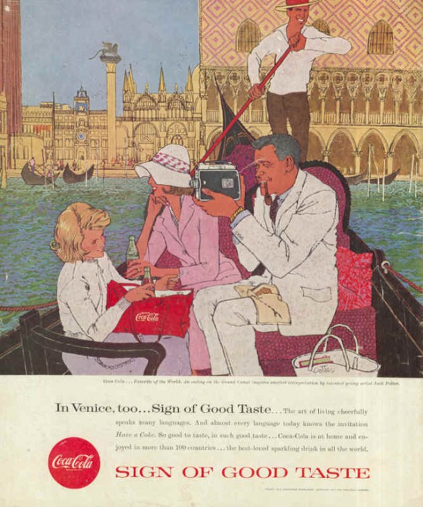 In Venice, too... Sign of good taste... 1957