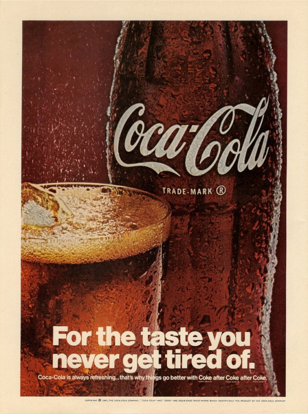 For the taste you never get tired of 1967