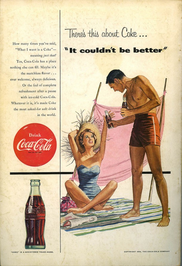 Coca-Cola It couldn't be better 1954