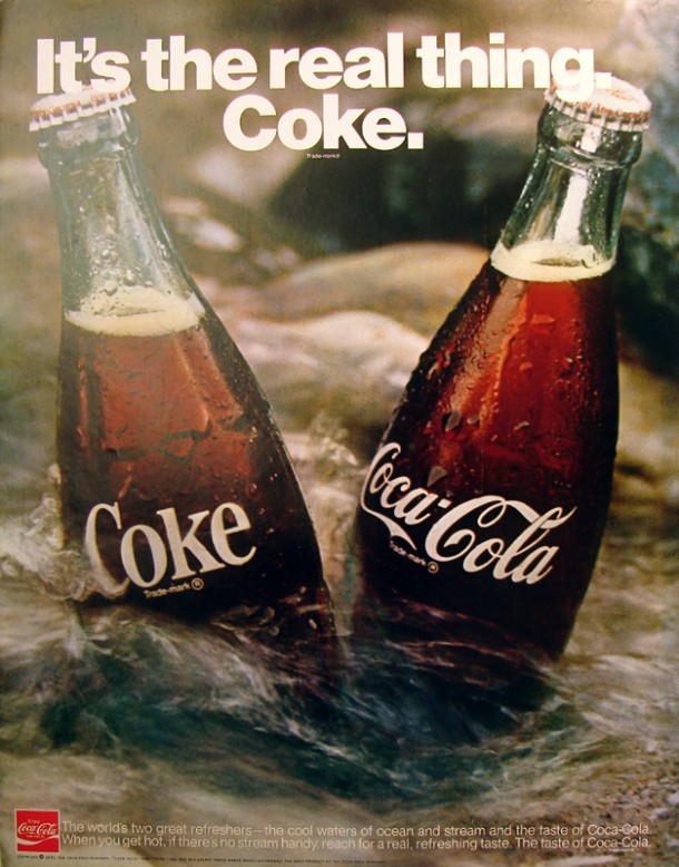 It's the real thing, Coke #10 1970