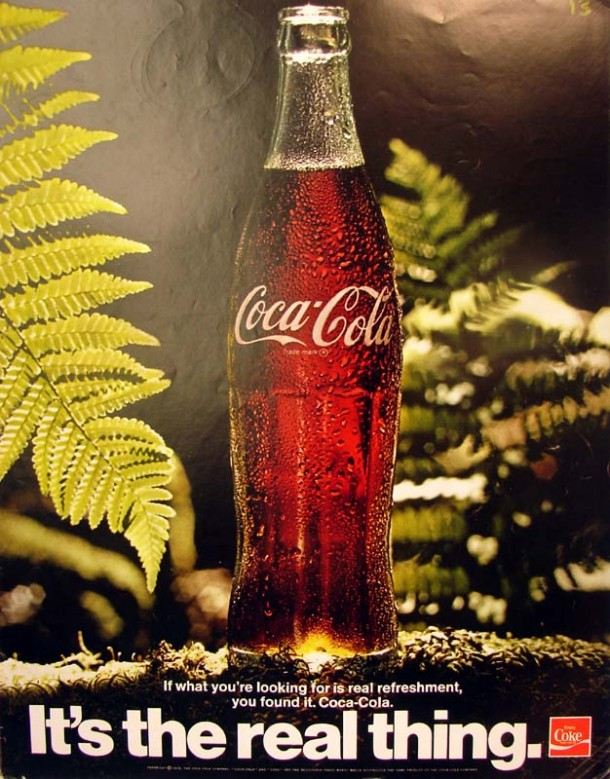 It's the real thing, Coke #1 1971