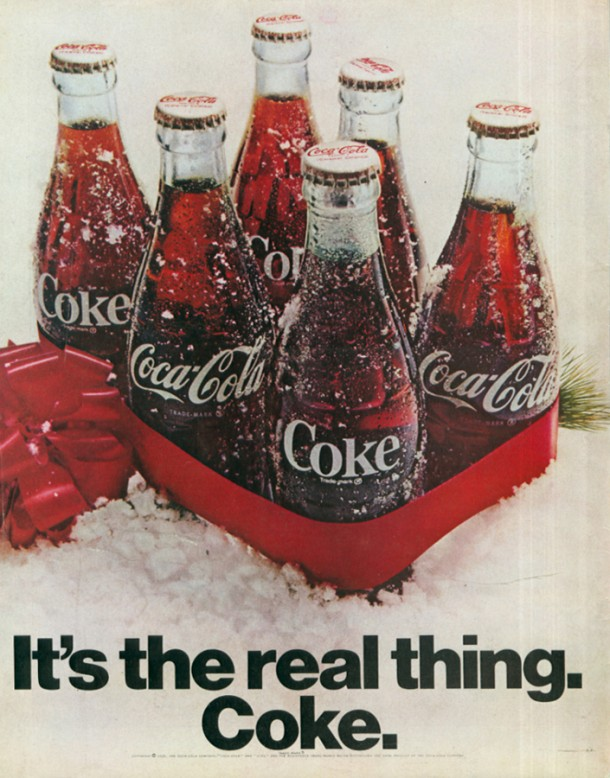 It's the real thing, Coke #2 1969