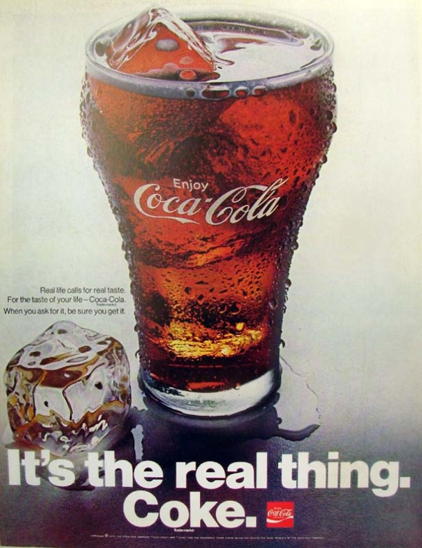 It's the real thing, Coke #2 1970