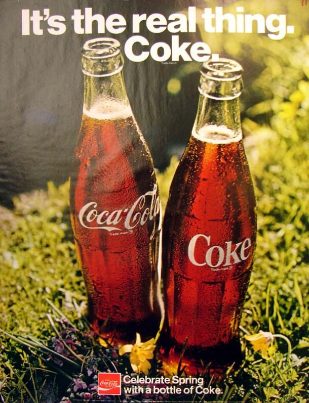 It's the real thing, Coke #2 1971