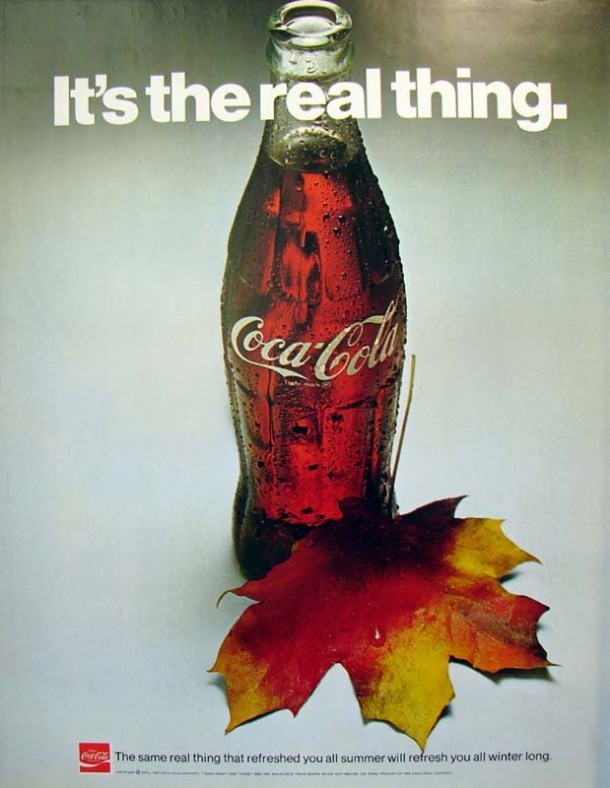 It's the real thing, Coke #3 1971