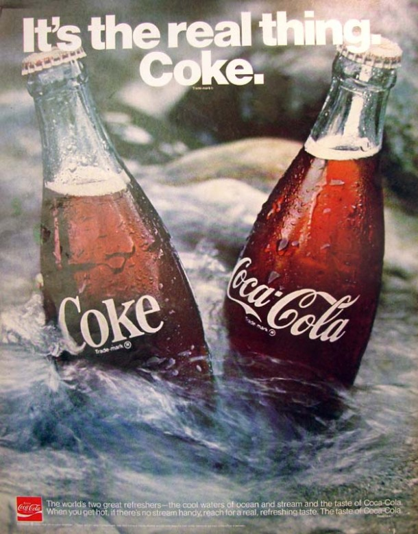 It's the real thing, Coke #4 1970
