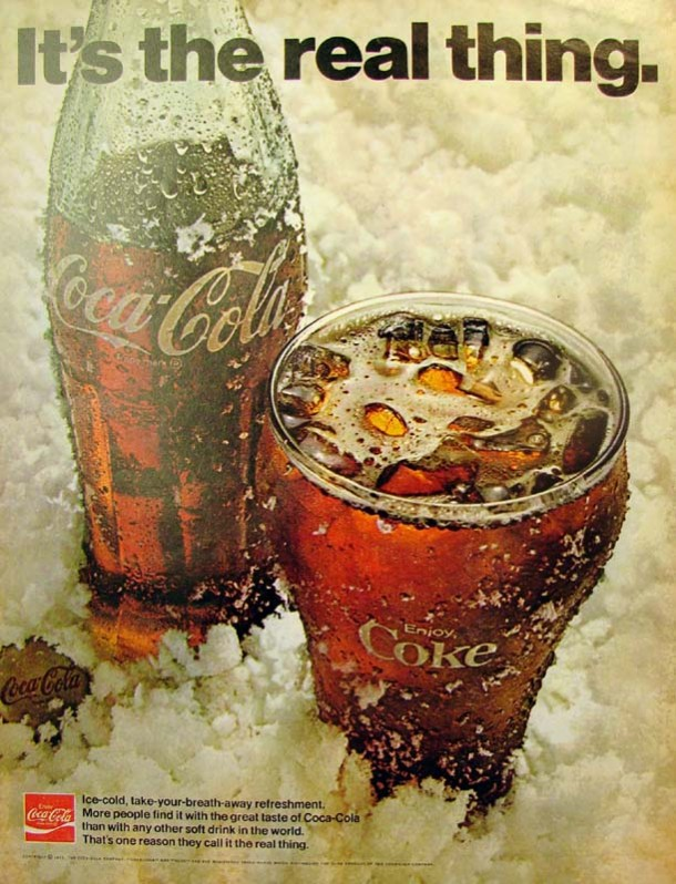 It's the real thing, Coke #4 1971