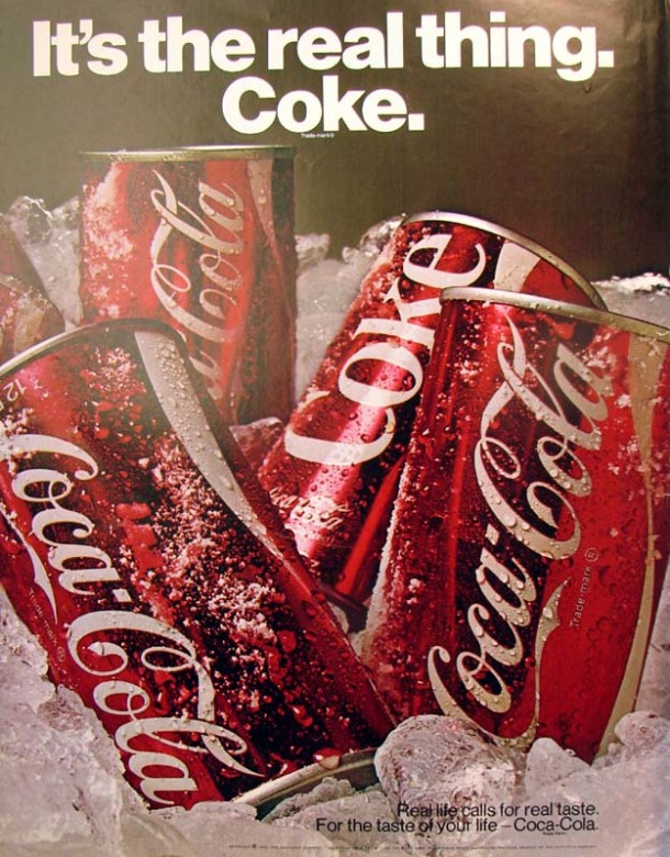 It's the real thing, Coke #5 1970