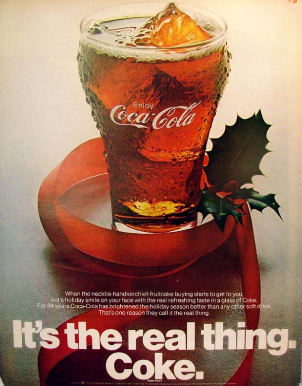 It's the real thing, Coke #6 1970