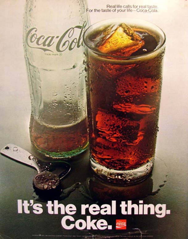 It's the real thing, Coke #8 1970