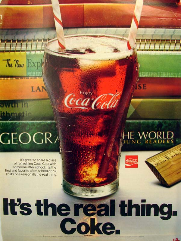 It's the real thing, Coke #9 1970
