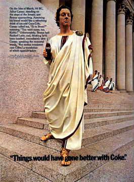 Coca-Cola Julius Caesar 1969