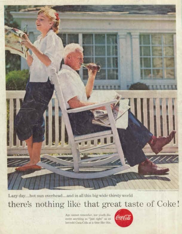Lazy day... hot sun overhead... 1956