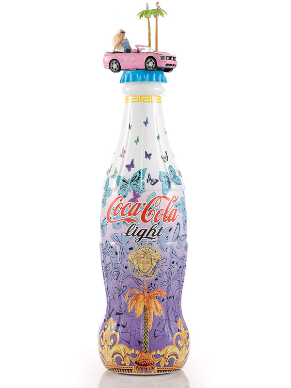 Coca-Cola light: Versace, 2012