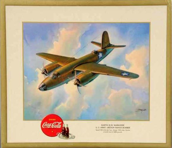 "Martin B-26 ""Marauder"" U.S. Army - Medium Range Bomber 1943"