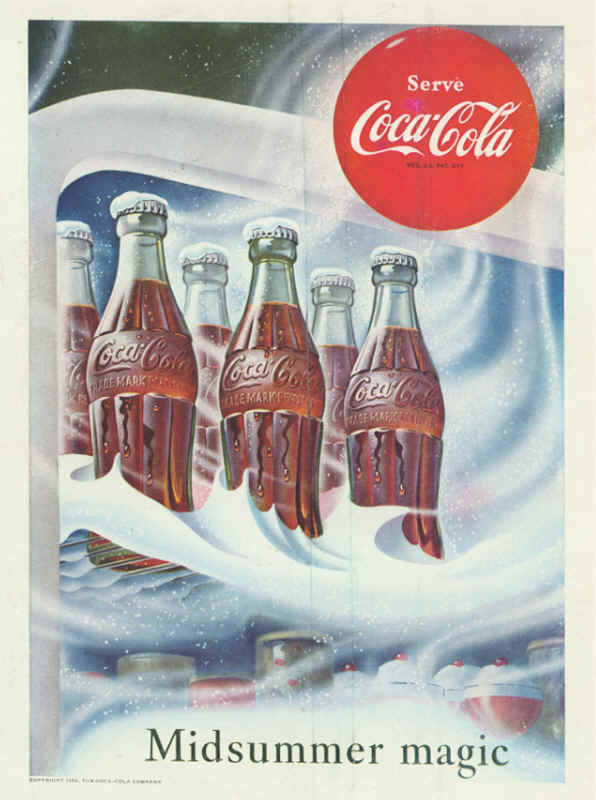 Coca-Cola midsummer magic 1953