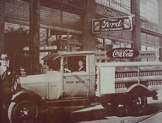 Coca-Cola model AA Ford truck 1928