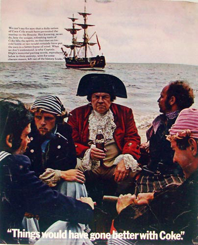 Coca-Cola Mutiny on the Bounty 1969