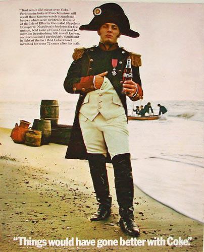 Coca-Cola Napoleon Bonaparte 1969
