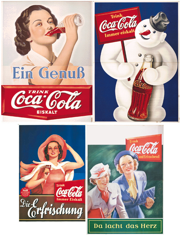 Coca-Cola Nazi Germany 1938