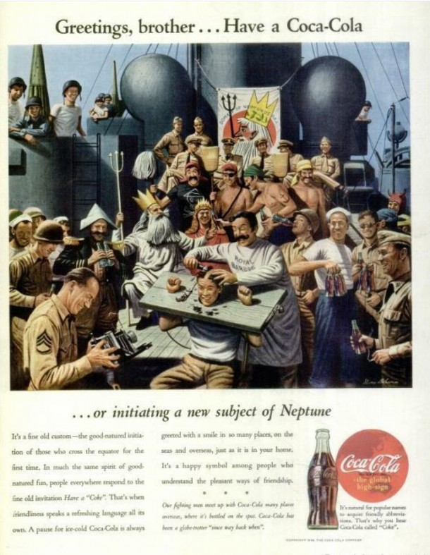 Greetings, brother... Have a Coca-Cola... or initiating a new subject of Neptune