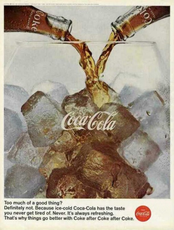 Coca-Cola has the taste you never get tired of 1966