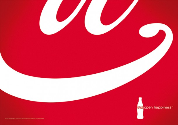 Coca-Cola open happiness, 2012