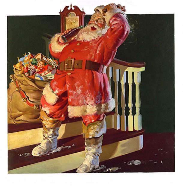 Coca-Cola Santa Claus 1942