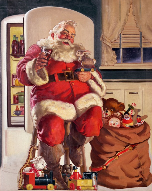 Coca-Cola Santa Claus 1947