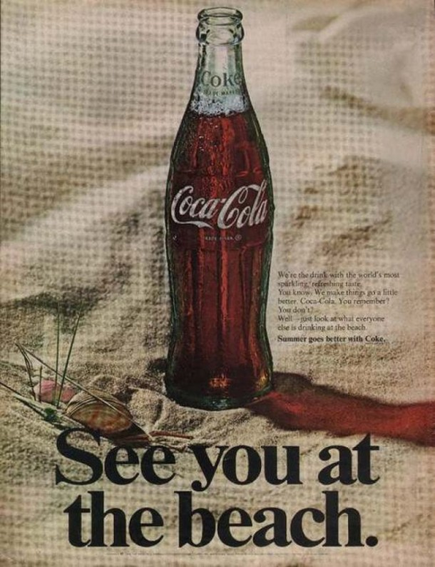 Summer goes better with Coke 1969