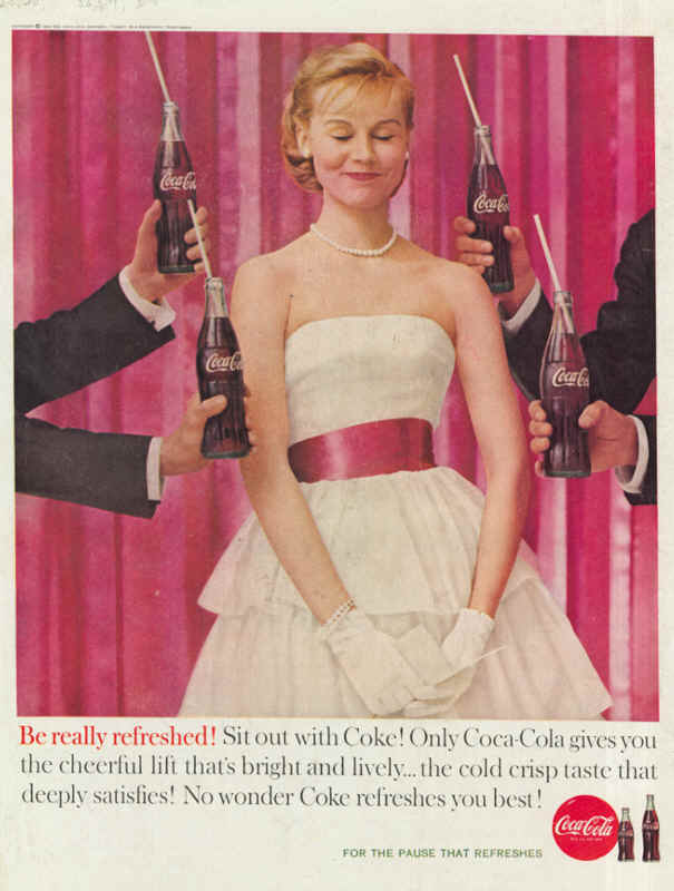 Sit out with Coke 1960
