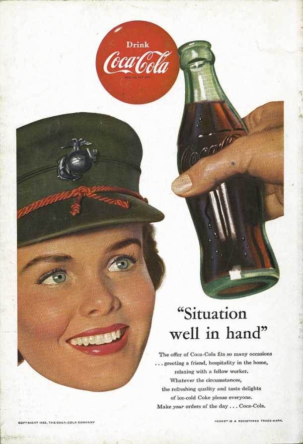 "Coca-Cola ""Situation well in hand"" 1953"