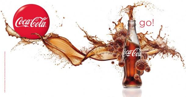 Coca-Cola splash 2009