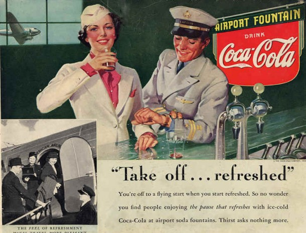 """""""Take of... refreshed"""" 1939 by Gil Elvgren"""