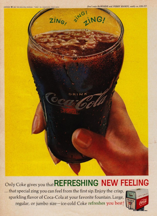 That special zing you can feel from the first sip 1962